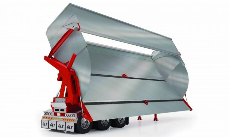 Graham Lusty Trailers - High Volume Side Tipper render